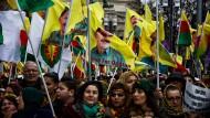 Türkei verärgert über Frankfurter Kurden-Demo