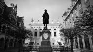 Sohn der einen Buchmessestadt, Student in der anderen: Auch Leipzig ehrt Goethe mit einem Denkmal