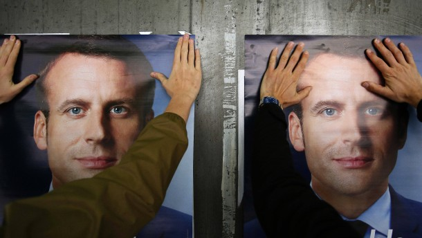 Wie Macron Linke und Rechte versöhnen will