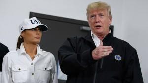 """Trump zu Klimawandel: """"Er kommt und geht"""""""