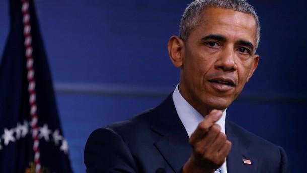 """Barack Obama sagt: """"Ich bin nicht überzeugt davon, dass wir Putin vertrauen können"""""""