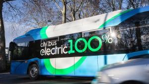 Erste E-Bus-Linie in Frankfurt