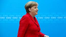 Merkel will schnell mit der Arbeit beginnen