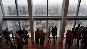 The Shard Opens to Welcome Visitors to Europe Tallest Building.