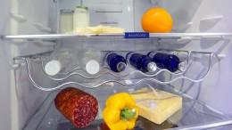 Liebe geht durch den Kühlschrank
