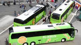 Flixbus will gegen niedrigere Bahn-Mehrwertsteuer klagen