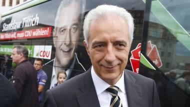 """Ministerpräsident Tillich auf Wahlkampftour: """"Keine Regierung mit einem Dilettantenstadel"""""""