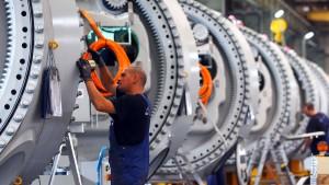 Deutsche Industrie mit Auftragsminus