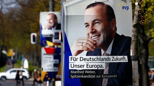 Weber will EU-Außengrenzen wirksamer schützen