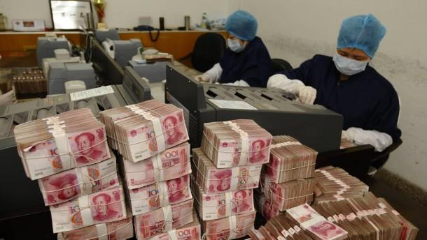 Chinas Kriminelle bestechen auch ohne Bargeld