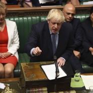 Johnson spricht im britischen Unterhaus (Archivbild)