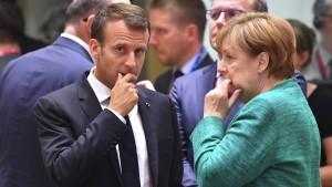 Italien blockiert, Österreich warnt Deutschland
