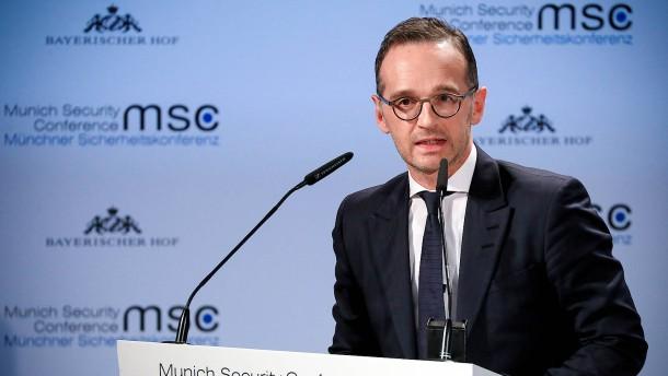 Maas wünscht sich Europa als starken Akteur der Weltpolitik
