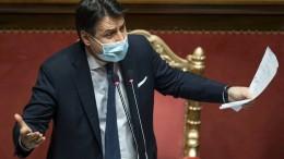 Italiens Regierungschef Conte zurückgetreten