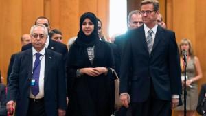 Westerwelle fordert syrische Übergangsregierung