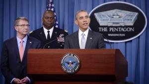 Amerika nimmt die Anführer des IS ins Visier