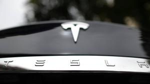 Ein Mann lässt Tesla-Aktienkurs steigen