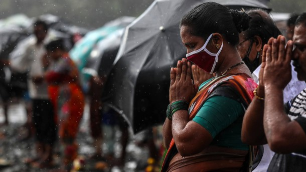 Indien zwischen Corona und Überschwemmungen