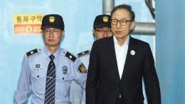 Früherer Präsident Südkoreas zu 15 Jahren Haft verurteilt