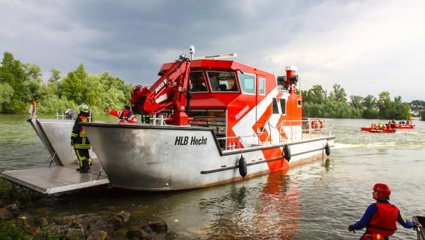 Boote für die Wasserrettung