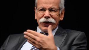 Dieter Zetsche fünf weitere Jahre an Daimler-Spitze