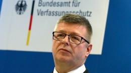 Verfassungsschutz-Chef sieht Erstarken der Rechtsextremisten