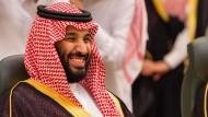 Der saudische Kronprinz Mohammed bin Salman will mit Softpower zur Sport-Macht aufsteigen.