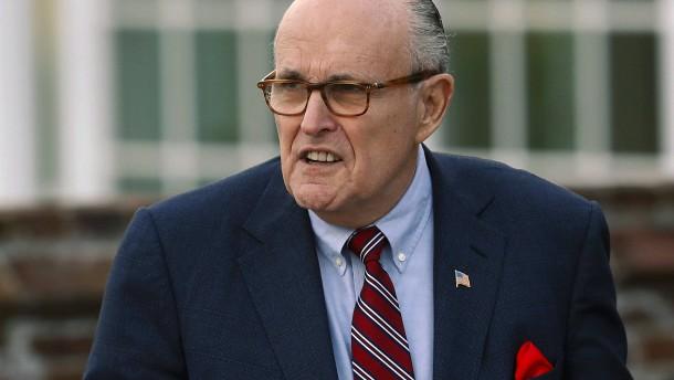 Giuliani gerät in Ukraine-Affäre stärker unter Druck