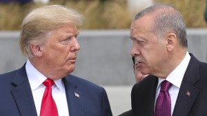 Erdogan ordnet Sanktionen gegen amerikanische Minister an
