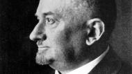 Der sowjetische Politiker Georgi Wassiljewitsch Tschitscherin. Er war von 1918 bis 1930 Nachfolger Trotzkis als Volkskommissar des Äußeren.