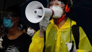 Erster Prozess nach Massenprotesten in Hongkong