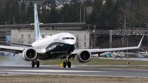 Boeing 737 Max startet zum Jungfernflug
