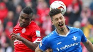 Kampf ohne Sieger: Cordoba im Duell mit Sandro Wagner