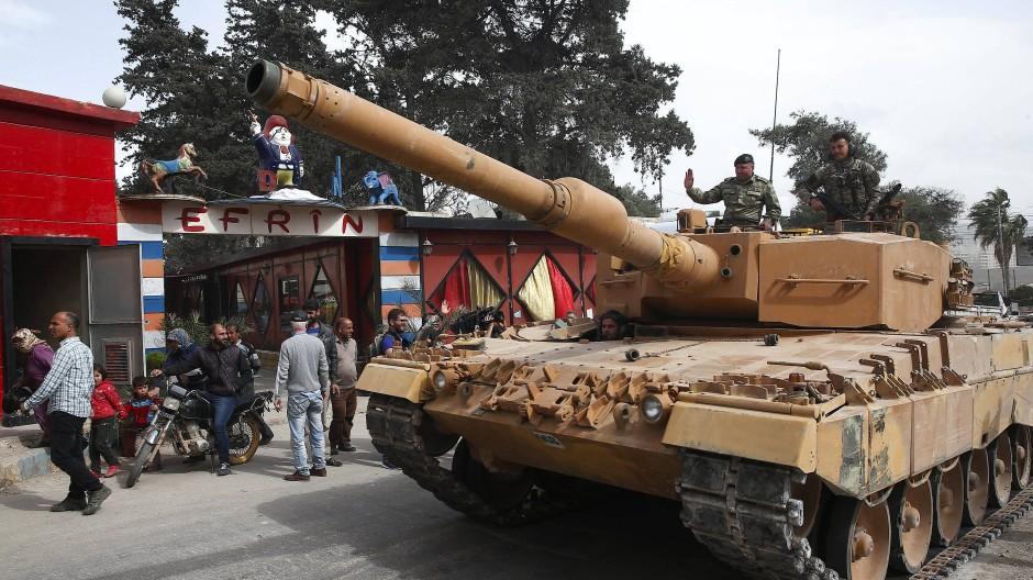 Die Türkei zielt mit ihrer Offensive auf die Kurdenmiliz YPG, die sie als verlängerten Arm der PKK betrachtet.
