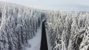 Erste Zufahrt zum Feldberg wieder geöffnet