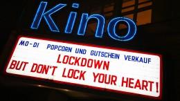 Kinozahlen brechen massiv ein