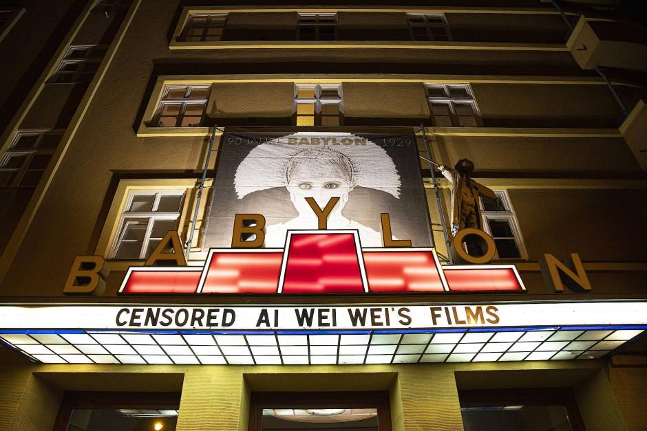 Das Berliner Babylon-Kino zeigt parallel zur Berlinale das filmische Werk des chinesischen Künstlers Ai Weiwei.