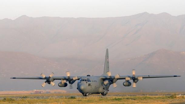 Taliban melden Abschuss von amerikanischem Flugzeug