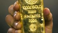 Die Kurse von Bergbauunternehmen wie Anglo Gold stiegen in den vergangenen 30 Tagen um gut ein Viertel.