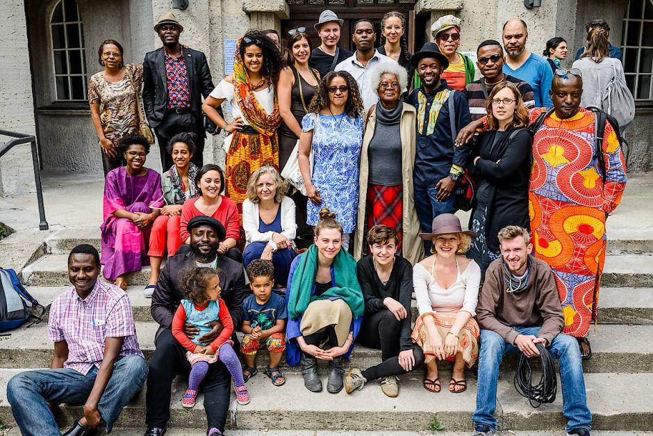 Das Team des Berliner Projektraums Savvy Contemporary im Jahr 2016