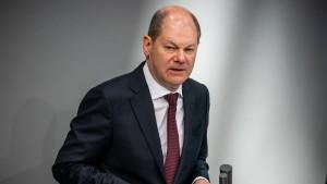 Scholz will Menschenleben nicht mit Wirtschaft aufwiegen