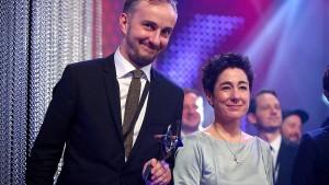 Kroymann und Böhmermann bekommen Grimme-Preise