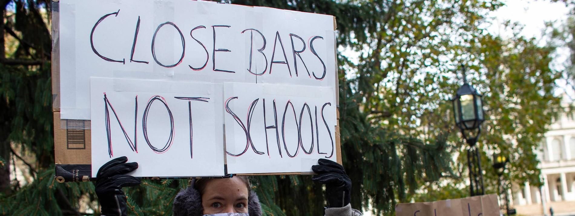 New Yorker Grundschüler sollen jede Woche getestet werden