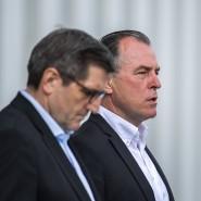 Andreas Ruff und Clemens Tönnies (r.), beide Geschäftsführer der Tönnies-Holding