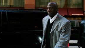 Harte Linie: Klub-Besitzer Jordan vergangene Woche in New York