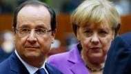 Deutschland, Frankreich und die USA sollen sich nach Angaben von Bundeskanzlerin Angela Merkel bis Jahresende auf Regeln für die Arbeit ihrer Geheimdienste verständigen
