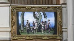 Homoerotisches Altarbild soll aus Kirche verschwinden