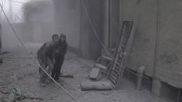 Zahlreiche Tote nach Luftangriffen in Syrien