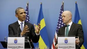 Obama hofft auf Einlenken Putins