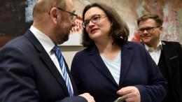 """""""Mit den drei Ministerien hat die SPD fast eine kleine Regierung"""""""